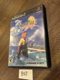 Final Fantasy X PlayStation 2 PS2 with Manual Square Enix [B47]