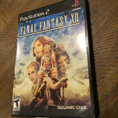 Final Fantasy XII PlayStation 2 PS2 with Manual Square Enix [B45]