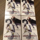 Ghost in the Shell 2: Innocence Set of 4 Promotional Postcards (2004) [B32]