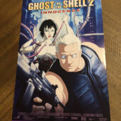 Ghost in the Shell 2: Innocence 11 x 17 inch Home Video Poster (2004) [D81]