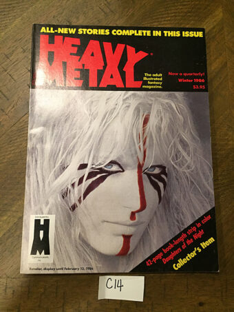 Heavy Metal Magazine (Winter 1986) [C14]