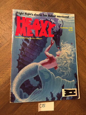 Heavy Metal Magazine (September 1985, Vol. 9, No. 6) [C15]