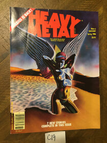 Heavy Metal Magazine (Spring 1986) Moebius is Back [C19]