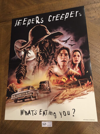RARE Jeepers Creepers Shout Factory 18×24 inch Limited Edition Collector Poster [D63]