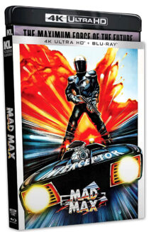 Mad Max 4KUHD and Blu-ray Combo Special Edition with Alternate Poster Slipcover