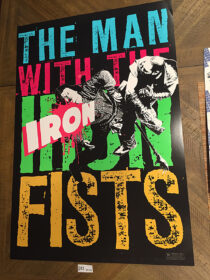 The Man With the Iron Fists 24 x 35 inch Limited Edition Exclusive Promotional Movie Poster (2012) RZA [D52]