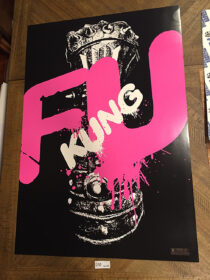 The Man With the Iron Fists 24 x 35 inch Limited Edition Exclusive Promotional Movie Poster (2012) RZA [D55]