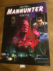 Manhunter Shout Factory 18 x 24 inch RARE Collector Poster [D74]