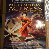 Satoshi Kon's Millennium Actress 27×40 inch Original Movie Poster – 1st U.S. Home Video Release DreamWorks (2003)
