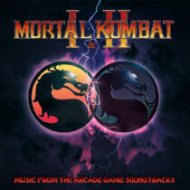 """Mortal Kombat I and II – Music From The Arcade Game Soundtracks """"Blood Dipped"""" Vinyl Retail Variant Limited Edition"""