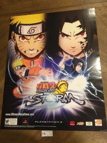 Shonen Jump Naruto: Ultimate Ninja Storm Game 19×24 inch Original Promotional Poster [D70] PlayStation 3 PS3