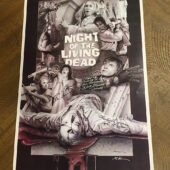 Night of the Living Dead 11×17 inch Cast-Signed Limited Edition Art Print [D99]