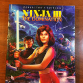 Ninja III The Domination Collector's Edition Blu-ray + Slipcover