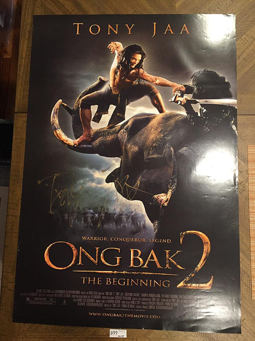 Ong Bak 2: The Beginning Tony Jaa-Signed 27×40 inch Original Movie Poster (2008) [D57]
