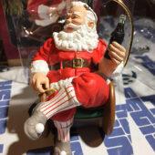 Hallmark Keepsake Ornament – Coca-Cola Santa Taking a Break (1997)