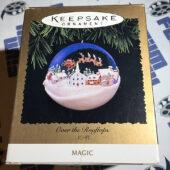 Hallmark Keepsake Ornament – Light Up Over the Rooftops Village (1996)