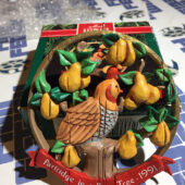 Hallmark Keepsake Ornament – Partridge in a Pear Tree (1991)