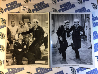 Frank Sinatra, Gene Kelly Anchors Aweigh That's Entertainment Part II Set of 2 Press Photos (1976) [PHO903]