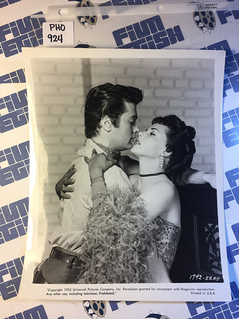 The Purple Mask Press Photo, Tony Curtis, Colleen Miller (1955) [PHO924]