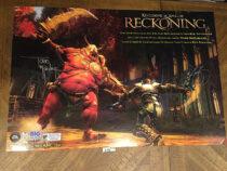 Reckoning Kingdoms of Amalur PS3 PlayStation 3 Todd McFarlane-Signed 36×24 inch Game Poster (2012) [D06]