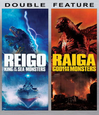 Kaiju Clash Double Feature: Reigo and Raiga Blu-ray Edition (2020)