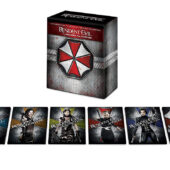 Resident Evil Six Film Boxed Set Collection UHD + Blu-ray + Digital – Resident Evil: Afterlife, Resident Evil: Apocalypse, Resident Evil: Extinction, Resident Evil: Retribution, Resident Evil: The Final Chapter