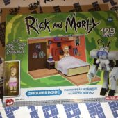 McFarlane Builds Rick and Morty Adult Swim You Shall Now Call Me Snowball Construction Set