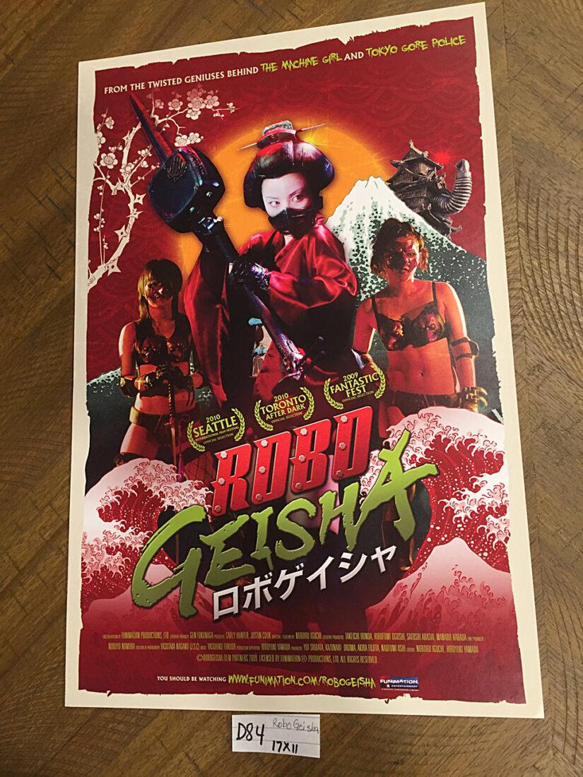 Robo Geisha 11×17 inch Original Promotional Movie Poster (2009) [D84]