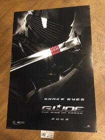 G.I. Joe: The Rise of Cobra 13×20 inch Movie Poster – Snake Eyes Character Portrait (2009) [D82]