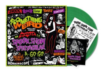 Something Weird Presents Spook Show Spectacular A-Go-Go Green Vinyl Edition + DVD + Collectible Zine