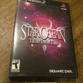 Star Ocean: Till the End of Time PlayStation 2 PS2 with Manual [B56]