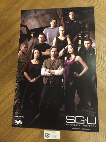 SGU Stargate Universe 11×17 inch San Diego Comic-Con Exclusive Promotional Poster (2009) [D80]