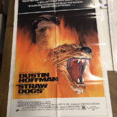 "Straw Dogs 1971 Original 27×41 Movie Poster Style ""D"" Dustin Hoffman Sam Peckinpah"
