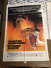 "Straw Dogs 1971 Original 27×41 Movie Poster Style ""D"" Dustin Hoffman Sam Peckinpah"