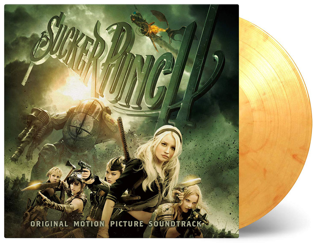 Sucker Punch Original Motion Picture Soundtrack Gold Vinyl Edition