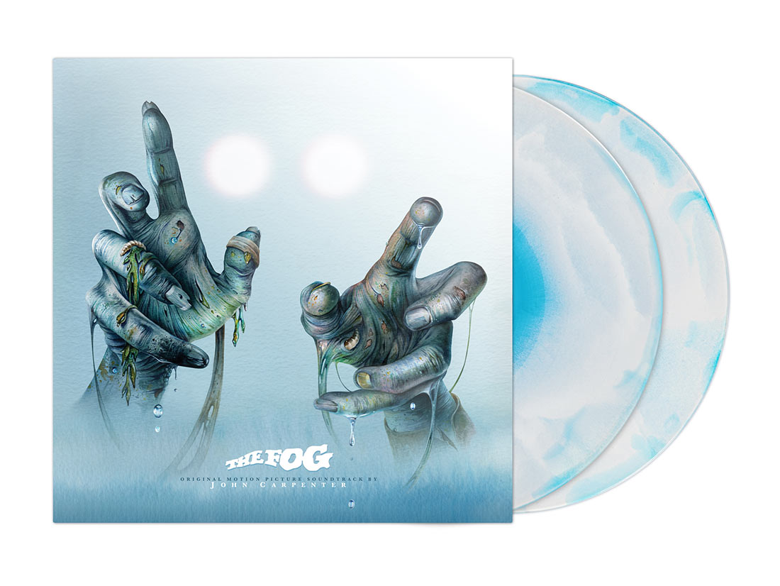 The Fog 40th Anniversary Original Motion Picture Score 2LP Limited Edition Vinyl (2020)