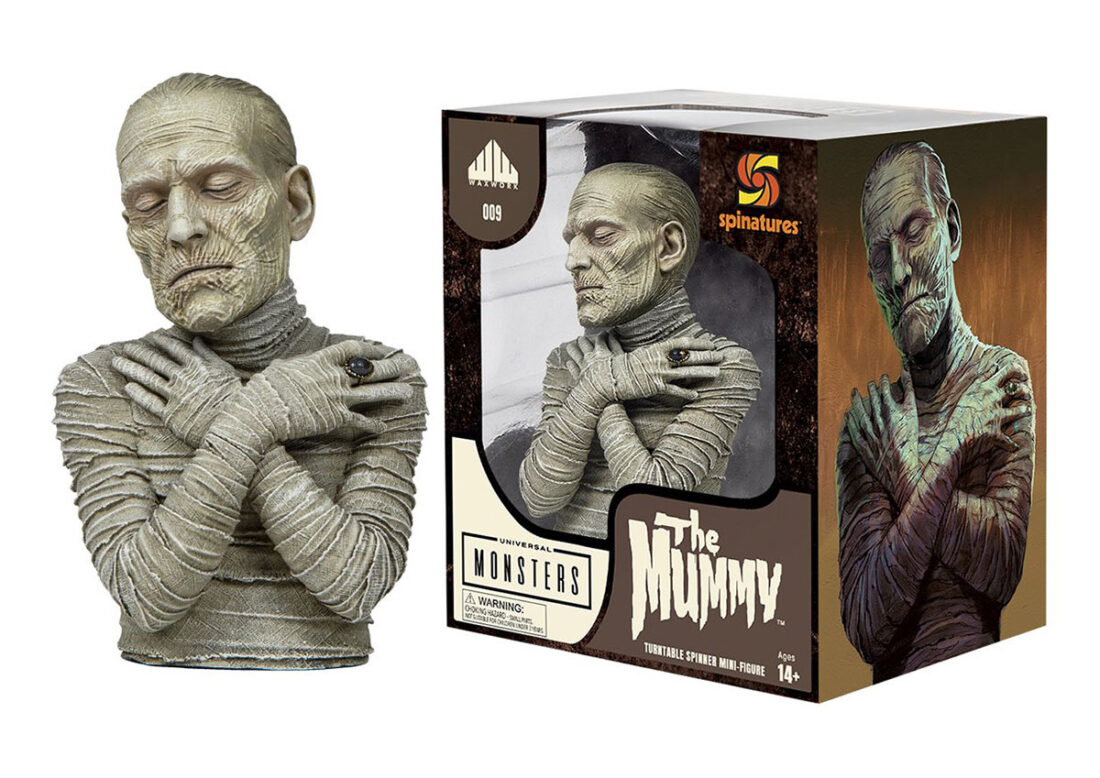 The Mummy Universal Monsters Collector's Spinature Figure