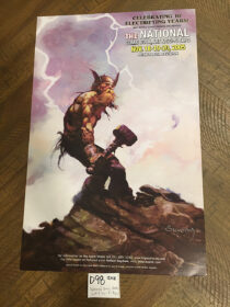 Big Apple Con Comic Book, Art & Sci-Fi Expo: The National 10th Anniversary 11×17 inch Collector Poster by Arthur Suydam November 18-20, 2005 [D98]
