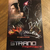 The Strand Prophecy 8.5 x 14 inch Promotional Poster Signed by Creator J.B.B. Winner [D96]