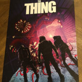 John Carpenter's The Thing Shout Factory 18×24 inch Collector Poster – Version A [D73]