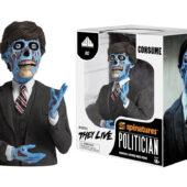They Live Movie Politician Character Collector's Spinature Figure