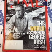 Time Magazine (September 6, 2004) The World According to George Bush [12135]