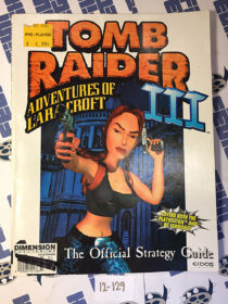 Tomb Raider III: Adventures of Lara Croft Official Strategy Guide EIDOS (1998) [12129]