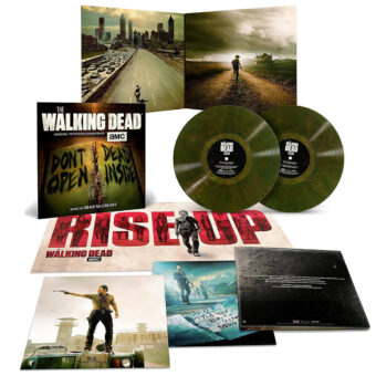 The Walking Dead Original Television Soundtrack Limited 2LP Green Marble Vinyl Edition