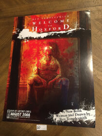Ben Templesmith's Welcome to Hoxford 18×24 inch Promotional Poster (2008) [D69]
