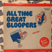 All-Time Great Bloopers: Broadcasting's Most Hilarious Boners 2-LP Vinyl Edition [E74]