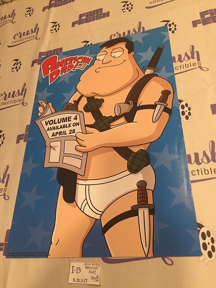 American Dad / Seth McFarlane's Cavalcade of Cartoon Comedy 11×17 inch Promotional Poster (2009) [I13]