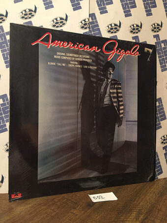 American Gigolo Original Soundtrack Album Music Composed by Giorgio Moroder and Featuring Blonde Vinyl Edition (1980) [E52]