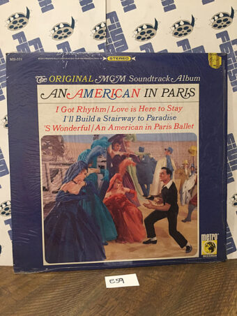 An American in Paris Original MGM Soundtrack Album Vinyl Edition MS-552 [E59]