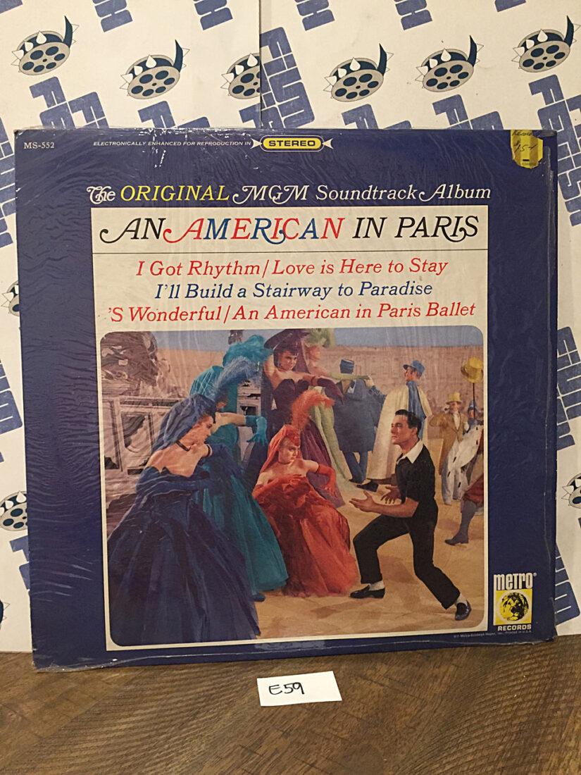 An American in Paris Original MGM Soundtrack Album Vinyl Edition MS-552 [E59]